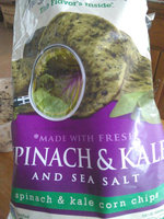 The Better Chip Spinach & Kale with Sea Salt Corn Chips uploaded by Enrique S.