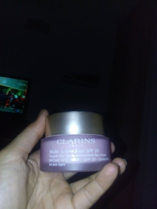 NEW Clarins Multi-Active Day & Night Creams uploaded by Amanda d.