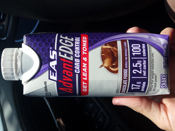 EAS AdvantEDGE Carb Control Chocolate Fudge Ready-to-Drink Shake uploaded by Lindsay C.