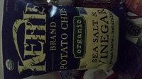 Kettle Brand® Organic Sea Salt & Vinegar Potato Chips uploaded by Christine K.