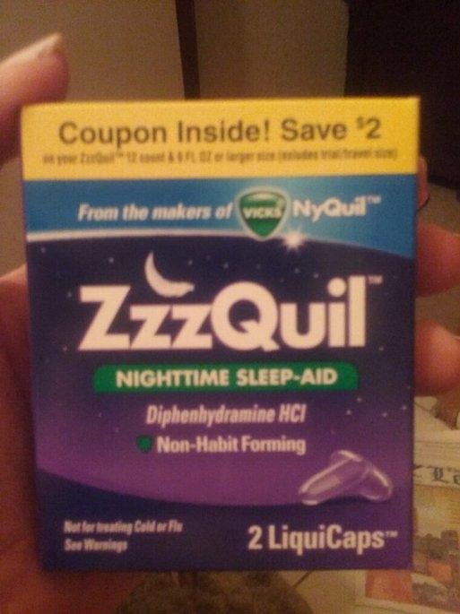 ZzzQuil Nighttime Sleep-Aid Liquid, Warming Berry uploaded by Rhonda L.