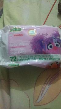 Photo of Sesame Street Hushables Flushable Toddler Wipes 32 Soft Cream Wipes uploaded by Melissa M.
