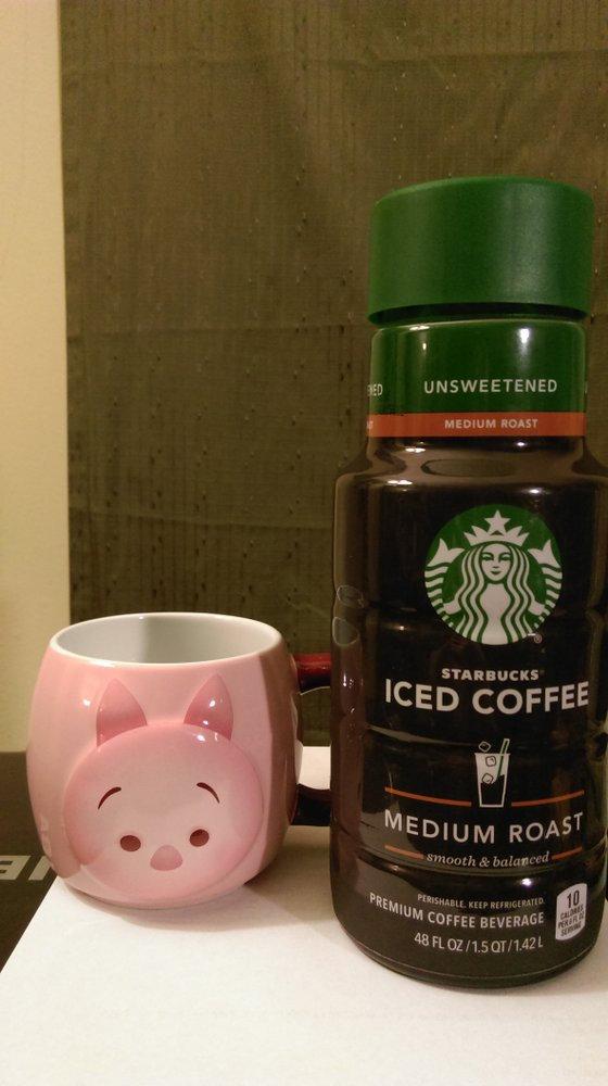 Starbucks® Black Unsweetened Iced Coffee