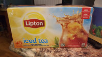 Lipton® Iced Black Tea Family Size Tea Bags uploaded by Megan S.