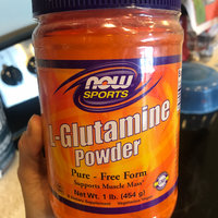 NOW Sports L-Glutamine uploaded by Gabriela P.