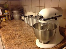 Photo of KitchenAid Classic 4.5 Qt Stand Mixer- White K45SS uploaded by Ashley H.