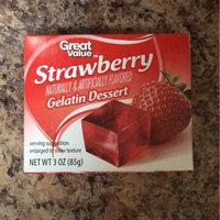 Great Value: Sugar Free Strawberry Gelatin Dessert, .3 Oz uploaded by Miranda F.
