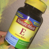 Nature Made E Vitamin 400 IU Liquid Softgels - 300 CT uploaded by Krista L.