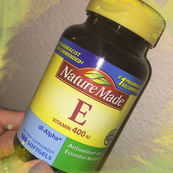 Photo of Nature Made E Vitamin 400 IU Liquid Softgels - 300 CT uploaded by Krista L.