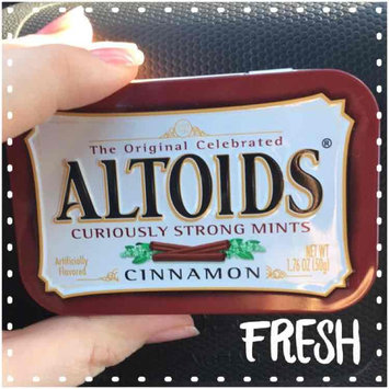 Photo of Altoids Curiously Strong Cinnamon Mints uploaded by Kaitie M.