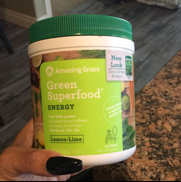 Amazing Grass Green SuperFood Drink Powder Lemon Lime - 24.7 oz - Vegan uploaded by Deborah C.