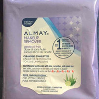 Almay Oil Free Makeup Remover Towelettes uploaded by Heather e.