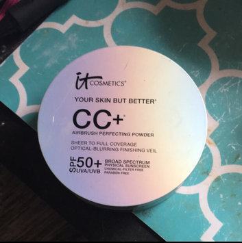 It Cosmetics Your Skin But Better CC+ Airbrush Perfecting Powder SPF50+ uploaded by Christine P.