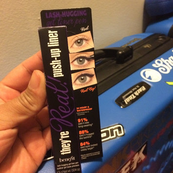 Photo of Benefit Cosmetics They're Real! Gel Eyeliner Pen uploaded by Wilka B.