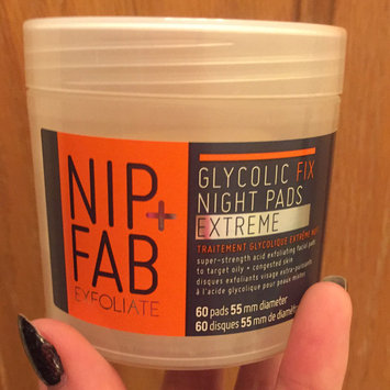 Photo of Nip + Fab Exfoliate Glycolic Fix Night Pads Extreme uploaded by Sarah A.