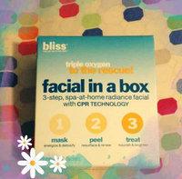 Bliss Triple Oxygen Facial In A Box uploaded by Carolyn H.