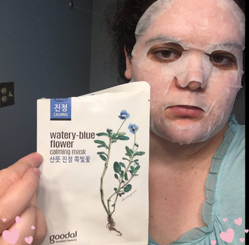 Photo of Goodal Watery-Blue Calming Sheet Mask uploaded by Jessica R.