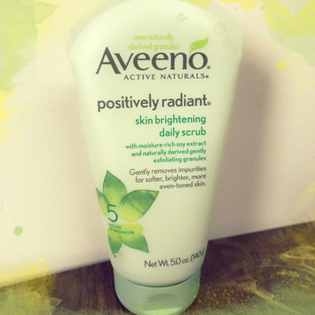 Aveeno Positively Radiant Skin Brightening Daily Scrub uploaded by Tara L.