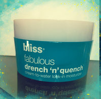 bliss fabulous drench 'n' quench moisturizer uploaded by Lindsay D.