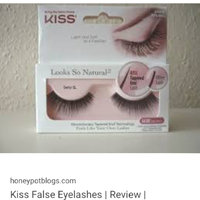 Kiss Ever Ez False Lashes Double Pack Kpd04 56735 with Adhesive and Applicator uploaded by Makeupworld m.