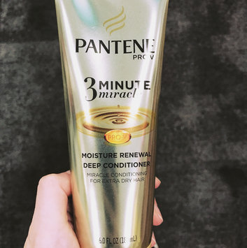 Photo of Pantene 3 Minute Miracle Moisture Renewal Deep Conditioner uploaded by Trish T.