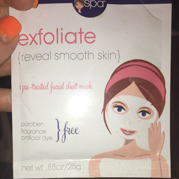 Photo of Miss Spa exfoliate Sheet Face Mask-1 Mask Pack uploaded by Kimberly G.