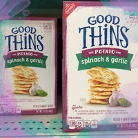 Good Thins Spinach & Garlic Potato Snacks uploaded by Sisto A.