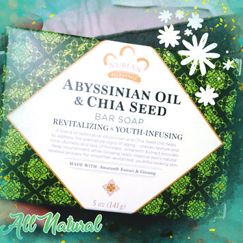 Photo of Nubian Heritage Abyssinian & Chia Bar Soap uploaded by M Noemi N.