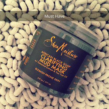 SheaMoisture African Black Soap Clarifying Mud Mask uploaded by Alena S.
