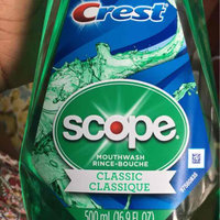 Crest Plus Scope Classic Mouthwash, Mint, 16.9 oz uploaded by Joi H.