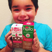 Hello Kids Fluoride Free Toothpaste Natural Watermelon uploaded by Nancy C.