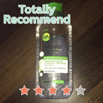 Garnier Skinactive Micellar Cleansing Water All-in-1 Mattifying uploaded by Shanjida S.