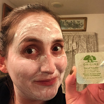 Photo of Origins Out Of Trouble 10 Minute Mask To Rescue Problem Skin uploaded by Kellie H.