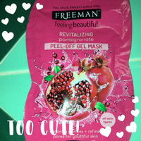 Freeman Feeling Beautiful Revealing Peel-Off Pomegranate Facial Mask uploaded by Jessica L.