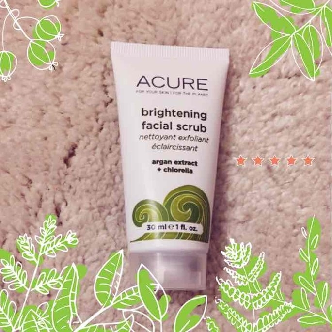 Acure Brightening Facial Scrub uploaded by Auguste P.