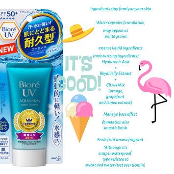 Photo of Bioré UV Aqua Rich Watery Essence SPF 50+ PA++++ uploaded by Stefany I.