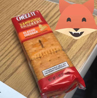 Cheez-It® Classic Cheddar Sandwich Crackers 1.48 oz. Pack uploaded by Angela B.