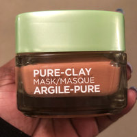 L'Oréal Paris Pure-Clay Exfoliate & Refining Face Mask uploaded by Jennifer M.
