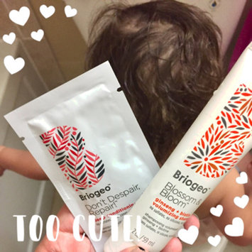 Photo of Briogeo Blossom & Bloom Ginseng + Biotin Volumizing Spray uploaded by Erin R.