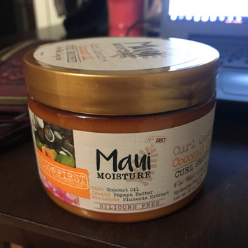 Photo of Maui Moisture Curl Quench +Coconut Oil Curl Smoothie uploaded by Candace L.