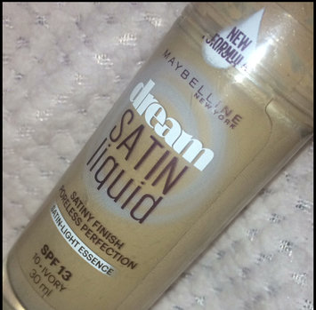Maybelline Dream Satin Liquid Foundation 010 Ivory [Ivory (1)] uploaded by Phoebe S.
