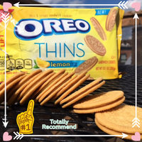 Nabisco Oreo Sandwich Cookies Thins Lemon Creme uploaded by BRANDY B.