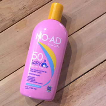 Photo of NO-AD Baby SPF 50 Sunscreen Lotion, 13 oz uploaded by Briana J.