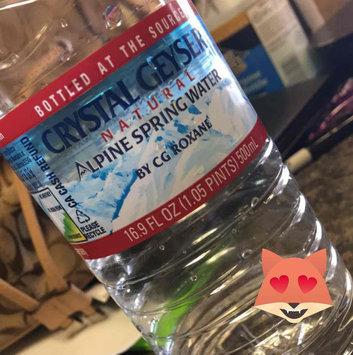 Photo of Crystal Geyser® Alpine 1 L Natural Spring Water 12 Ct Plastic Bottles uploaded by Crystal M.