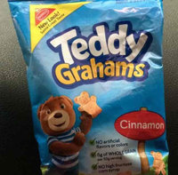 Nabisco Teddy Grahams Cinnamon Graham Snacks uploaded by Lonnesha D.