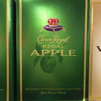 Photo of Crown Royal Canadian Whisky Regal Apple uploaded by Leslie P.