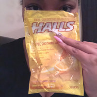 HALLS Honey-Lemon Drops Triple Action uploaded by Britnee J.