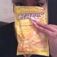 Halls Menthol Cough Suppresant/Oral Anesthetic Drops Honey-Lemon - 30 CT uploaded by Britnee J.