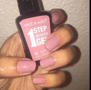wet n wild 1 Step WonderGel™ Nail Color uploaded by Brittany S.