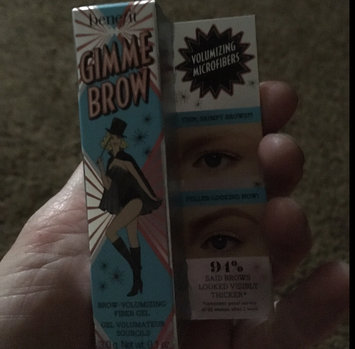 Benefit Cosmetics Gimme Brow Volumizing Eyebrow Gel uploaded by steph s.